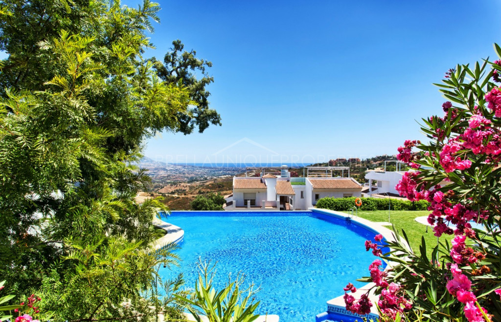 Lovely 1 bedroom penthouse apartment in La Mairena