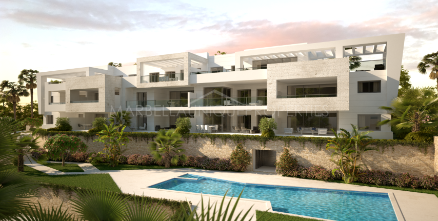 Modern new build penthouse in Casares