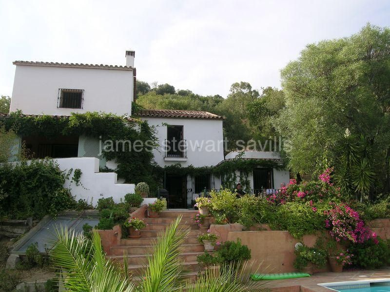 Gaucin, Villa with guest house with magnificent views in Gaucin