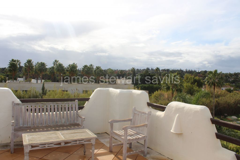Duplex Penthouse for rent in El Polo de Sotogrande - Sotogrande Duplex Penthouse