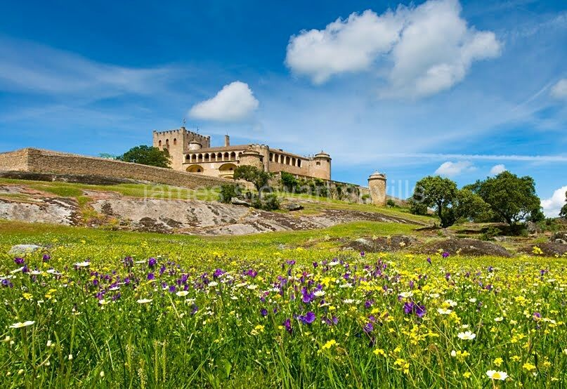 Badajoz, Impressive castle on a 500 hectare estate