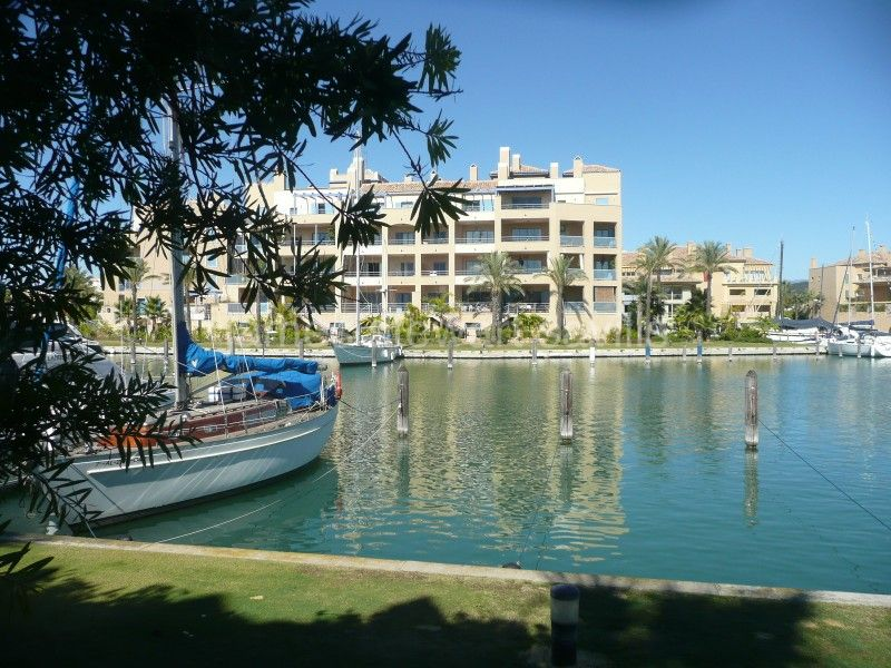 Sotogrande, A 12 x 4.5 meter berth in the marina of Sotogrande