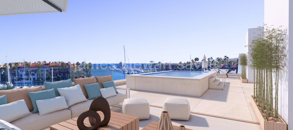 Sotogrande, Truly unique - Penthouse occupying whole of the top floor of a new building - completion 2022