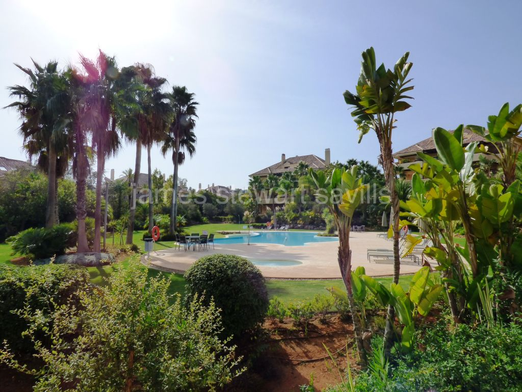 Sotogrande, Very nice ground floor apartment in Valgrande