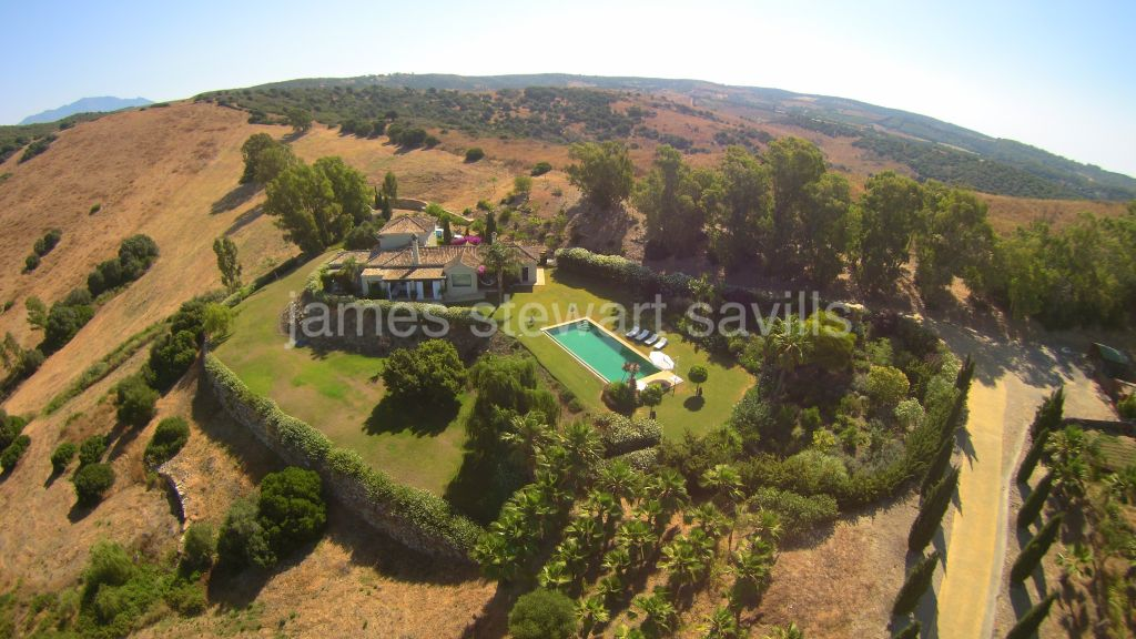 San Enrique de Guadiaro, Wonderful country finca with 6.6ha of private land and spectacular 360º views