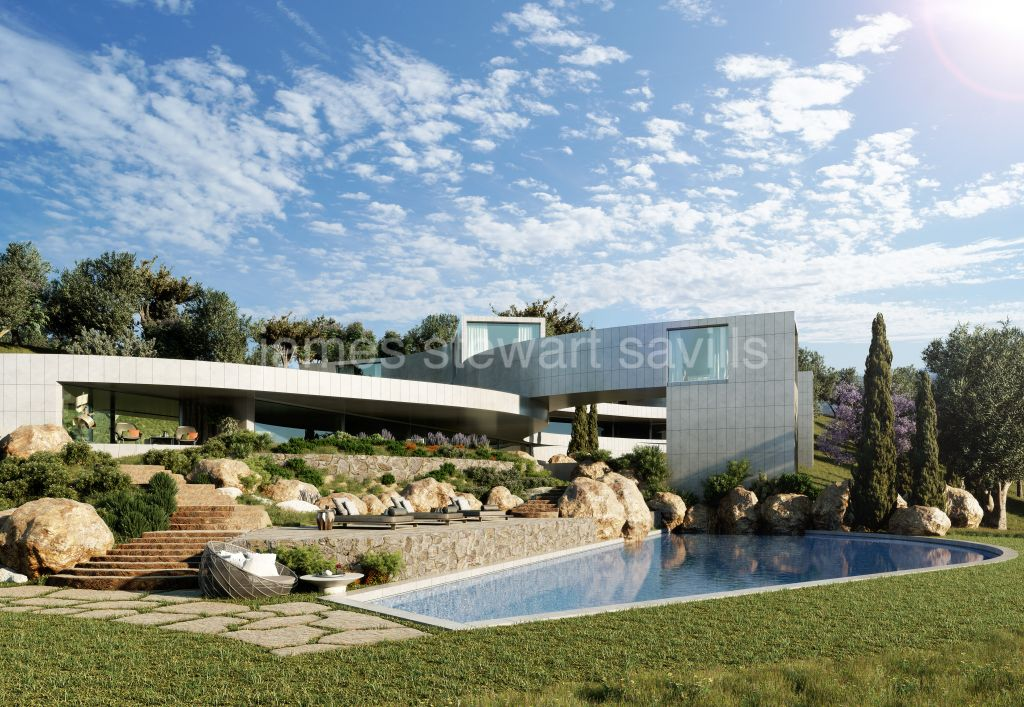 Sotogrande, A cutting edge futuristic home within over 10,000m2 of land by Frans Silvestre