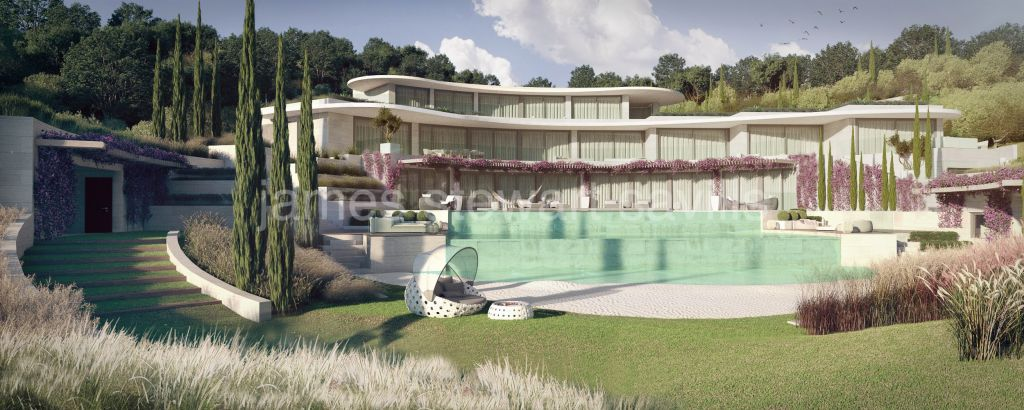 Sotogrande, Beautiful contemporary villa under construction in El Mirador, La Reserva Club