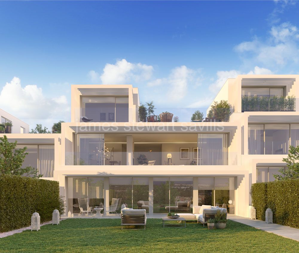 Sotogrande, Brand new contemporary style development with lovely sea views - only the last units left in Phase 1