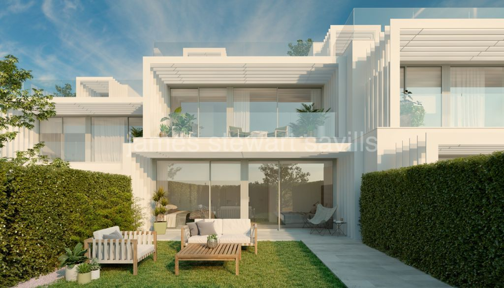 Sotogrande, Brand new contemporary style development with lovely sea views