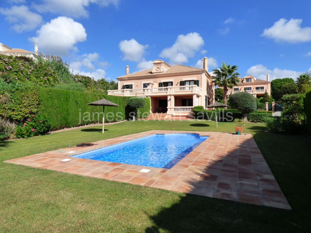 Sotogrande, Extremely nice semi-detached house in Sotogolf, Sotogrande Alto