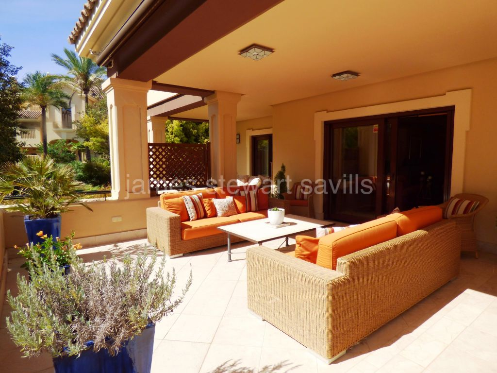 Sotogrande, 3 bedroom ground floor apartment in Valgrande II