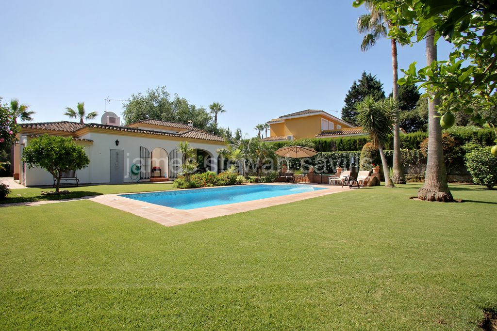 Sotogrande, Lovely single storey villa in the upper area of Sotogrande Costa