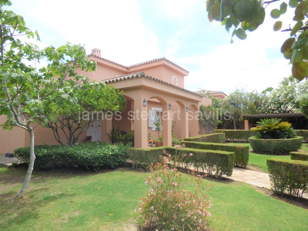 Sotogrande, A well built, south-east facing, two storey villa in Sotogrande Costa
