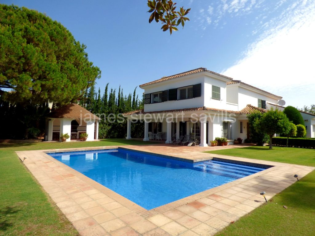 Sotogrande, A delightful four bedroom south facing house in Sotogrande's B Zone.