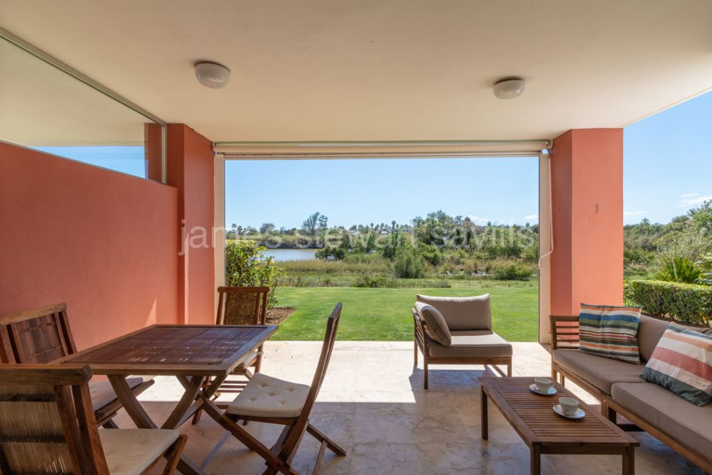 Sotogrande, Lovely garden apartment in Ribera de la Tenca in Sotogrande Marina