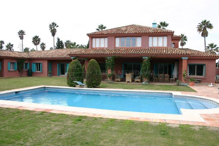 Sotogrande, Spanish style villa for sale close to Real Club de Golf and marina, Sotogrande