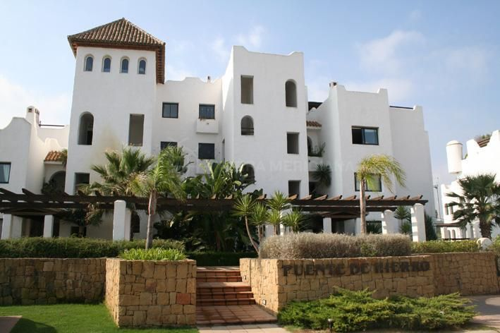 Sotogrande, South facing apartment for sale in a gated development close to Polo Fields, Sotogrande