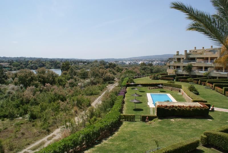 Sotogrande, Luxury 3 bedroom apartment with stunning views over the Guadiaro River for sale in Ribera del Rio, Sotogrande