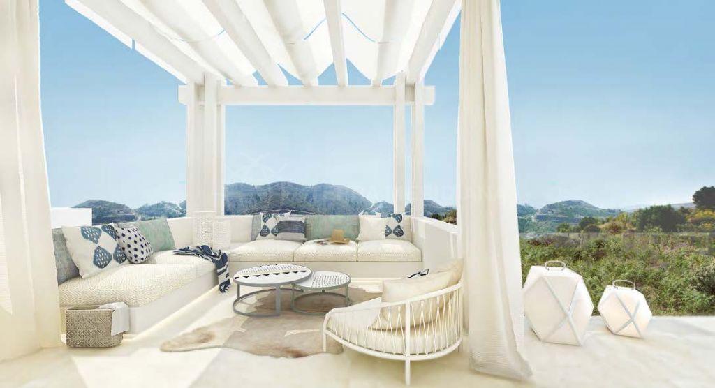 Benahavis, Spacious penthouse 4 bedroom for sale in Marbella Club Hills, a new gated development in Benahavis