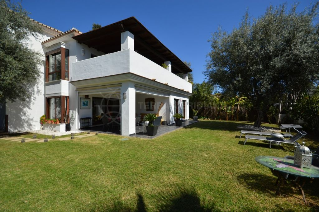Marbella Golden Mile, Large family villa for sale in Casablanca, Marbella walking distance to amenities with private pool