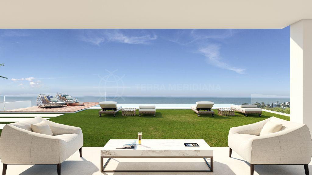 Estepona, Brand-new, contemporary villa in Atalaya, Estepona, with stunning sea and golf views, close to Puerto Banus