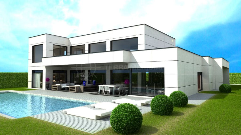 Marbella Golden Mile, Plot plus project  for sale, with swimming pool and private garden, Golden Mile, Marbella