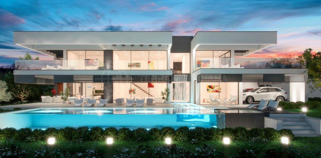 Nueva Andalucia, New-build, modern villa for sale, private pool and large plot in La Cerquilla, Nueva Andalucía, Marbella