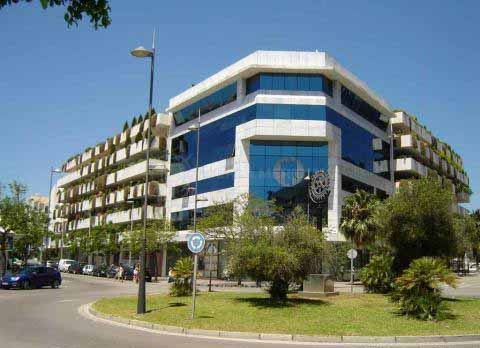 Marbella - Puerto Banus, Great office for sale in the centre of Puerto Banus, Marbella, in one of the main plazas