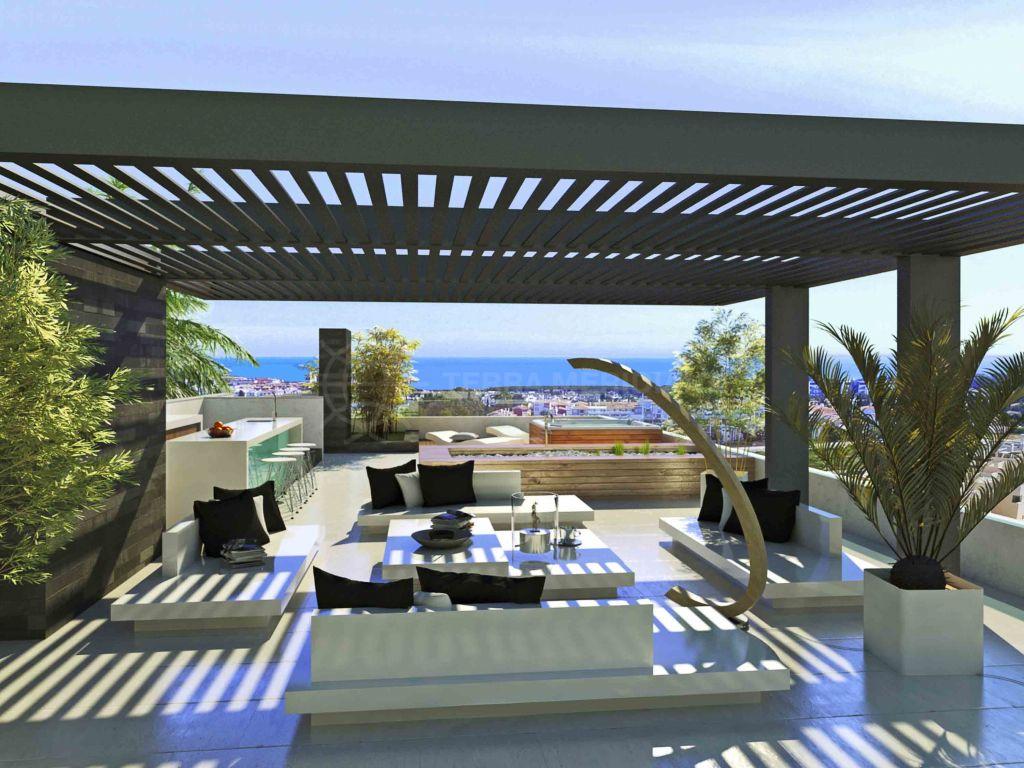 Estepona, Nuevo chalet de lujo en venta en El Campanario Golf y casa club, Estepona