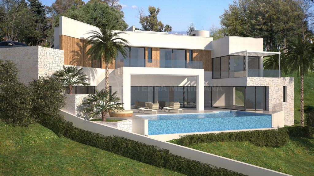 Marbella East, 1312 m2 Plot for sale in Rio Real, Marbella with project (licence agreed) for 5 bedroom 544 m2 luxury villa