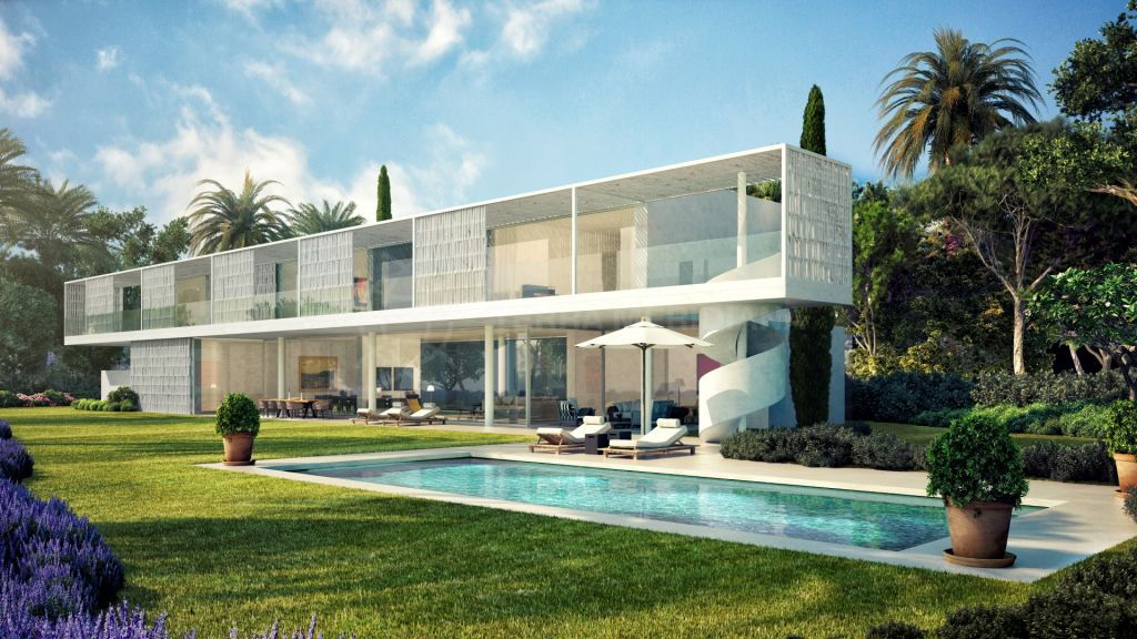 Casares, Stylish brand new 5 bedroom villa, front-line Cortesin Golf, for sale in Casares