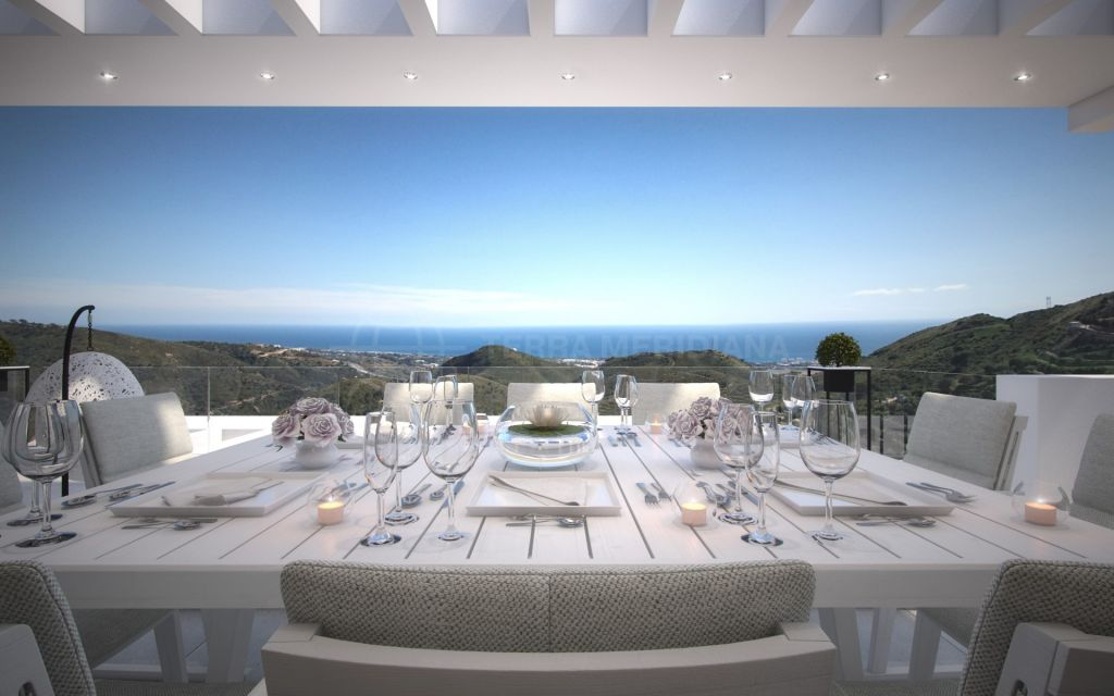 Ojen, Modern living bright apartment for sale in Ojen, only 10 minutes from Marbella Centre