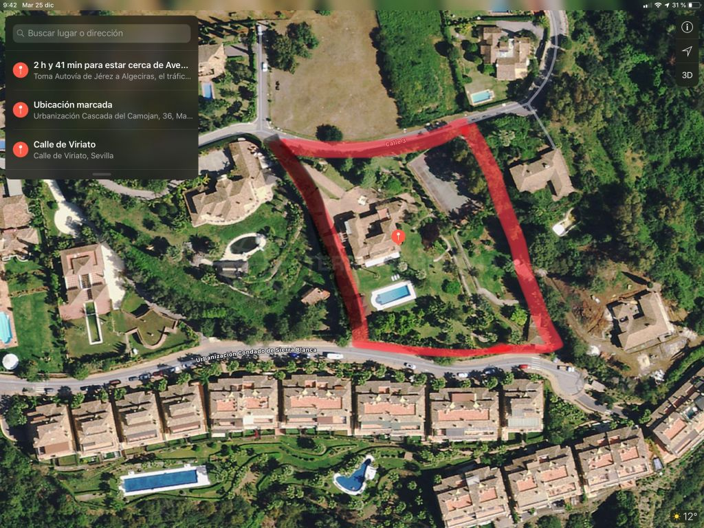 Marbella Golden Mile, Unprecedented development opportunity of a sizeable plot for sale in iconic Cascada de Camojan, Marbella Golden Mile