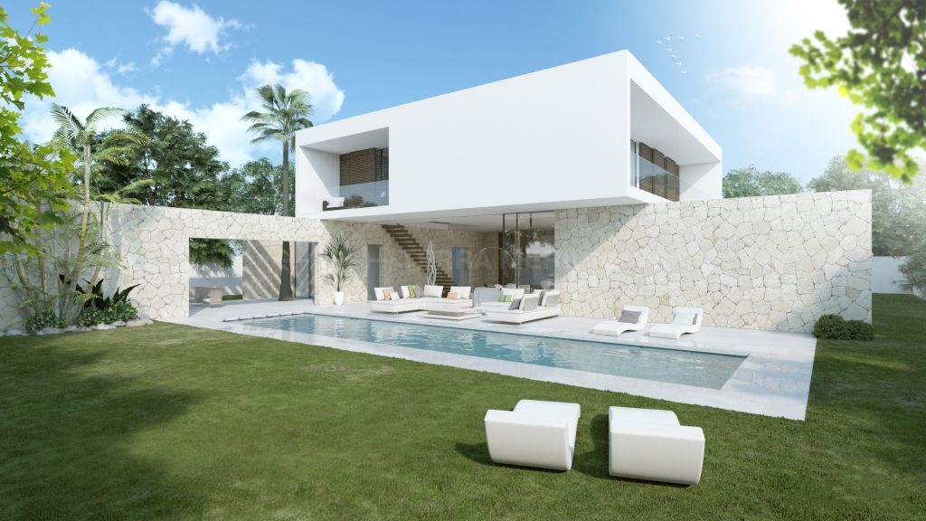 San Pedro de Alcantara, Brand new cutting-edge beachside villa for sale in Elite Villas, Cortijo Blanco, San Pedro de Alcantara