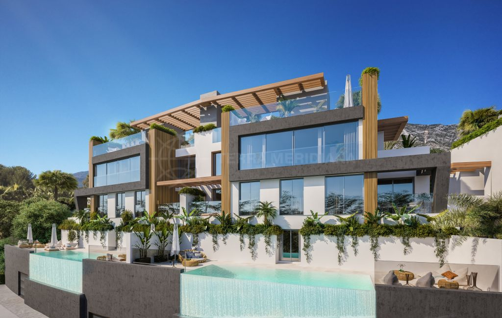 Benahavis, Contemporary villa with sweeping coastal views for sale in the brand new luxury development of Ocean 360º, Benahavis