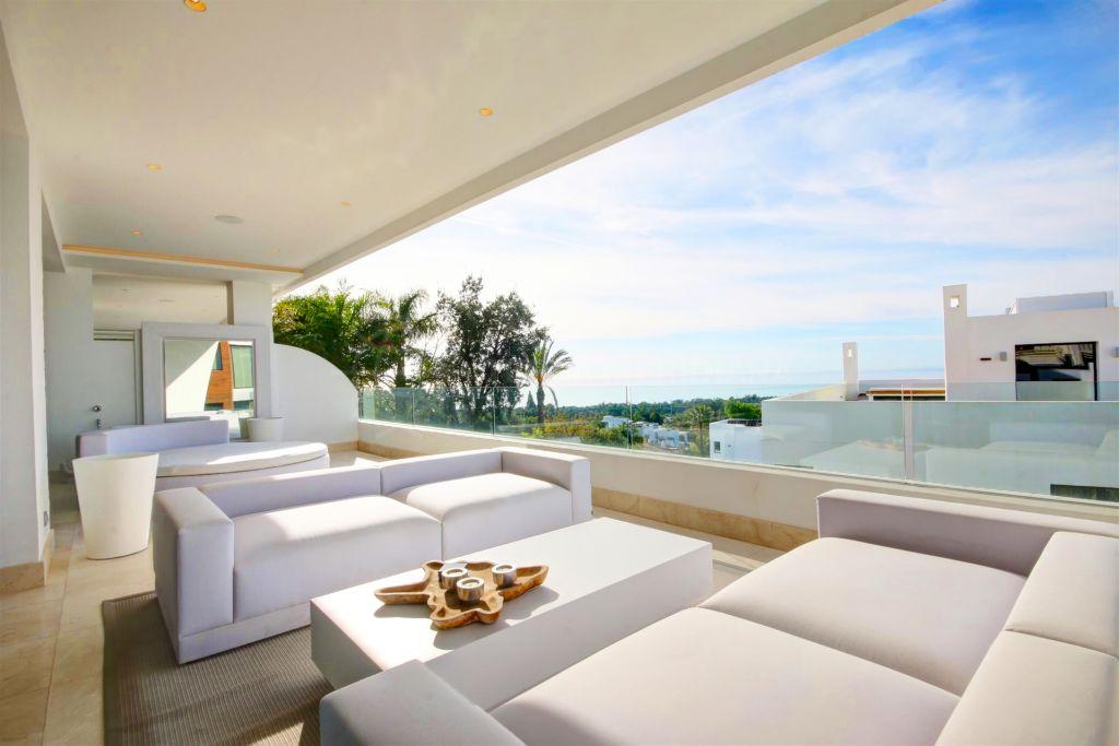 Penthouse duplex  à louer à  Reserva de Sierra Blanca - Marbella Golden Mile Penthouse duplex