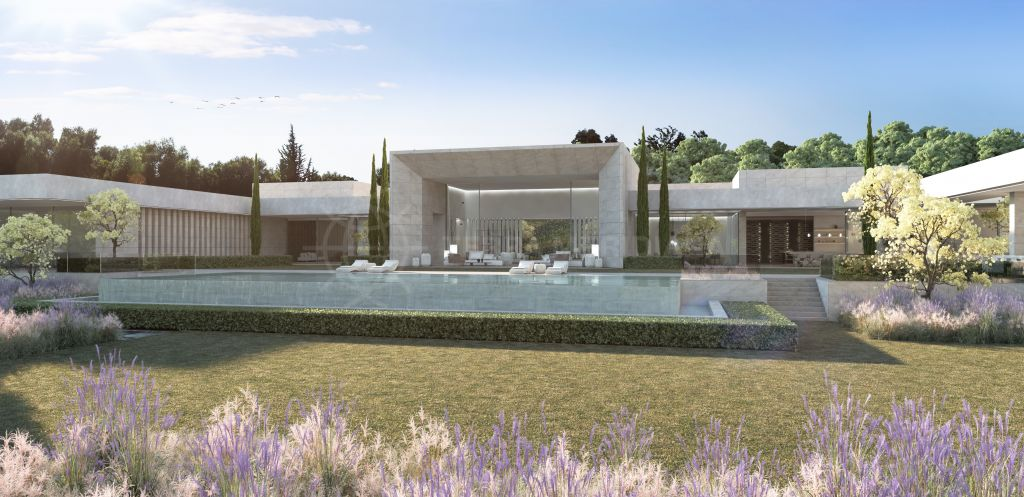 Sotogrande, Legendary villa in a cinematic landscape for sale in one of the country's most prestigious addresses in Sotogrande