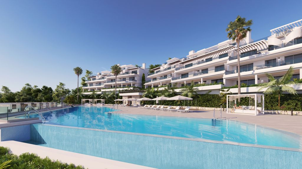 Estepona, Contemporary off-plan ground floor apartment in the exclusive development of Oceana Views, Cancelada, New Golden Mile, Estepona