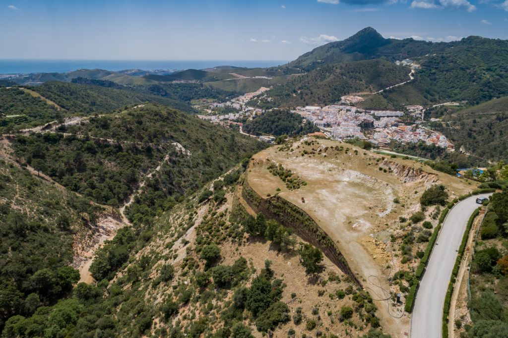 Benahavis, Enormous plot nestled in an undulating hillside paradise with endless vistas for sale in the gated and ultra-exclusive La Zagaleta, Benahavis