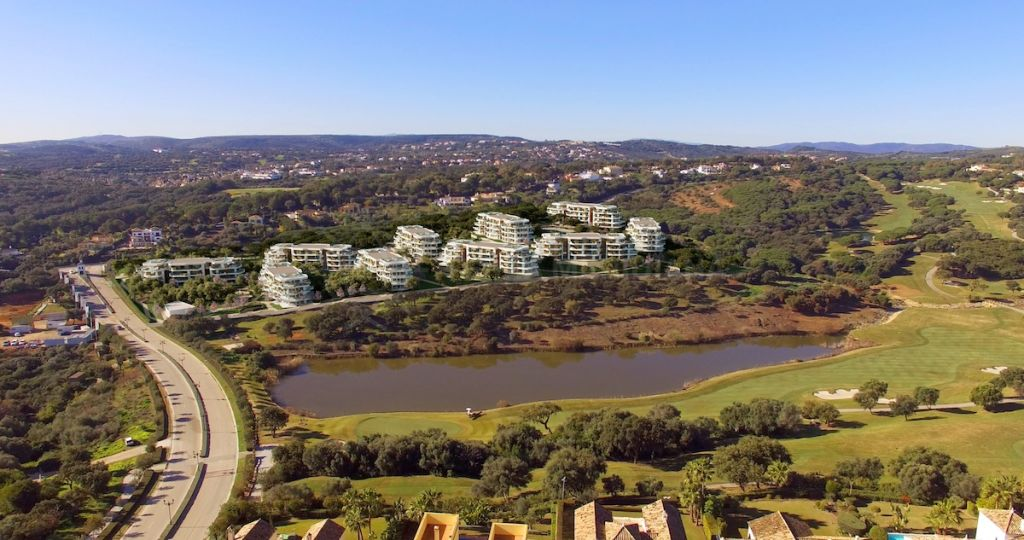 Sotogrande, Off plan first-floor luxury apartment for sale in the exclusive community of Village Verde, next to La Reserva Club Sotogrande