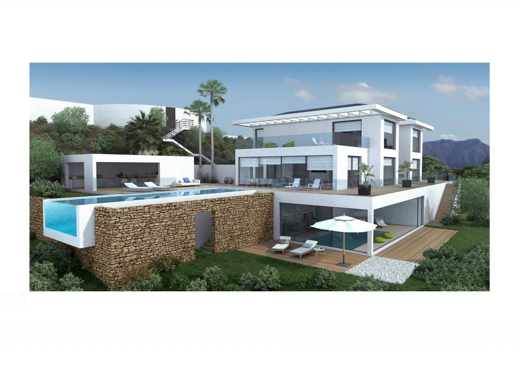 Benahavis, Turnkey project of a modern luxurious villa for sale in the glamorous enclave of La Zagaleta, Benahavis