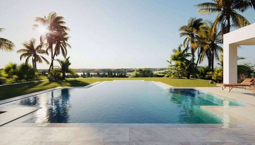 Benahavis, Off plan deluxe villa with sweeping views for sale in the coveted neighbourhood of Los Flamingos, Benahavis