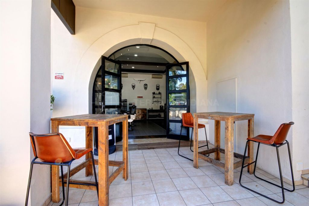 Marbella Golden Mile, Commercial space for lease within the Commercial Centre Le Village, Golden Mile, Marbella