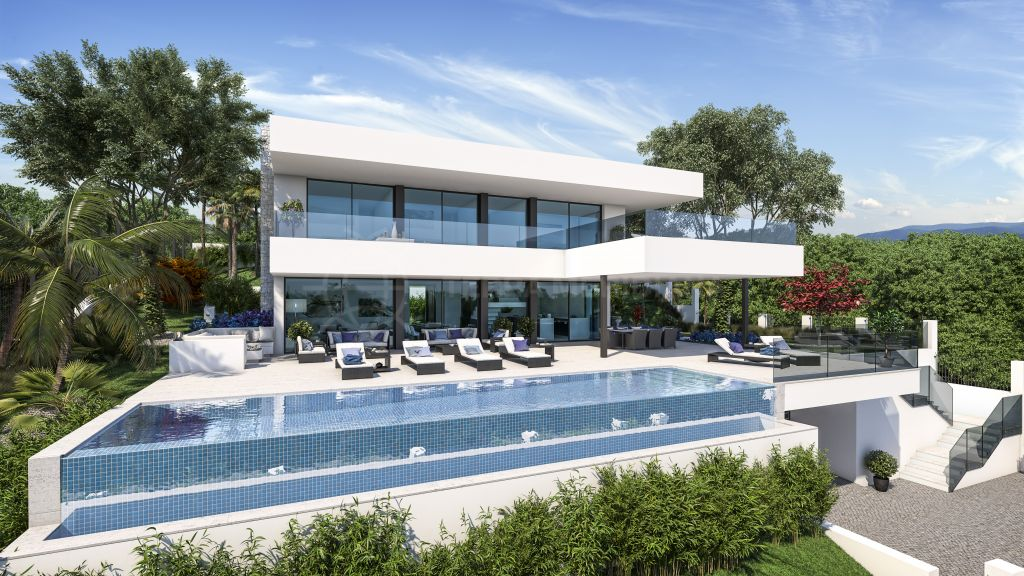 Nueva Andalucia, Brand new contemporary villa for sale in the desirable neighbourhood of Supermanzana H, Nueva Andalucia, Marbella