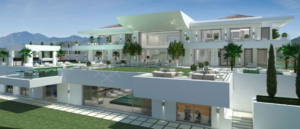 Benahavis, Avant-garde villa with dazzling views for sale in the most exclusive address in Europe, La Zagaleta, Benahavis