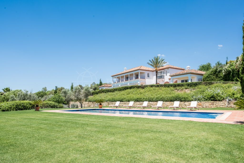 Sotogrande, Sensational south-facing villa with incomparable views for sale in the prestigious area of Sotogrande Alto Central, Sotogrande