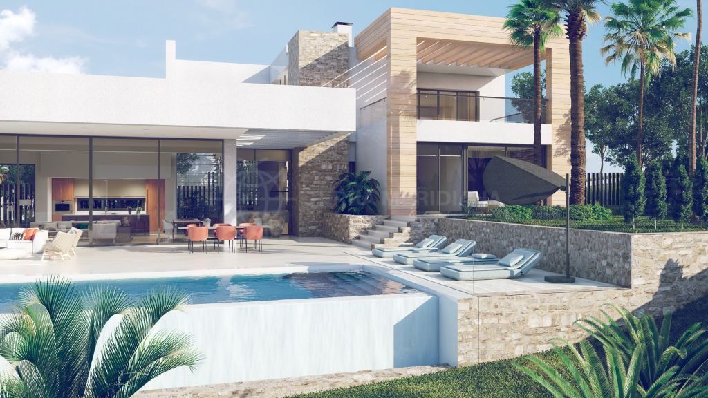 Nueva Andalucia, 4 bedroom villa under construction and for sale in Nueva Andalucia with private swimming pool