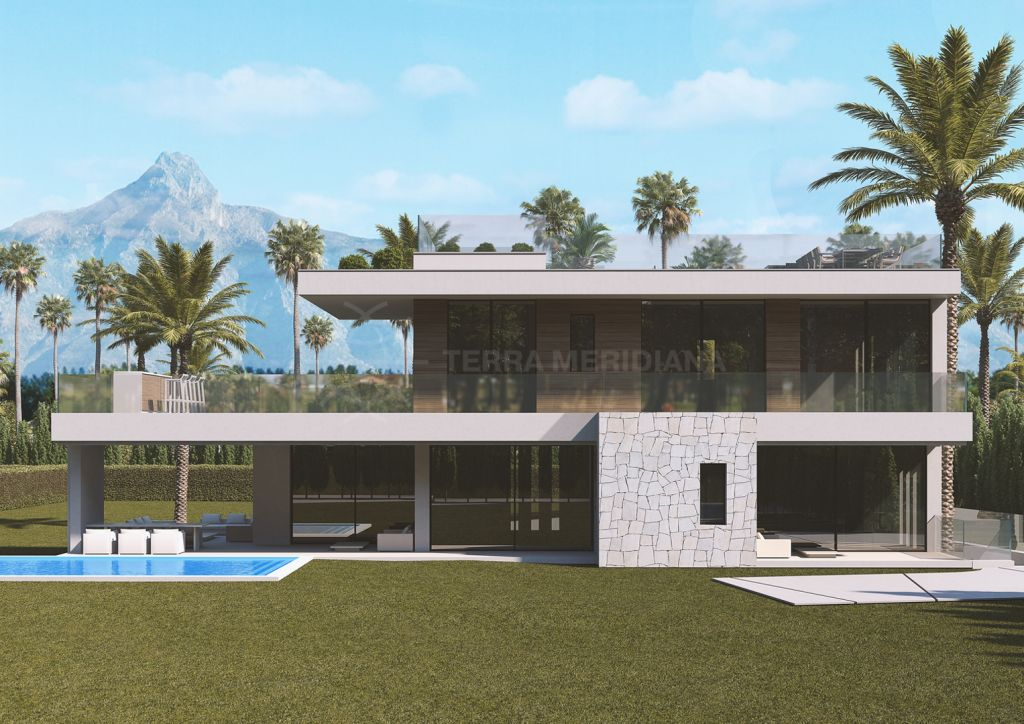 Marbella Golden Mile, Luxury off-plan villa for sale in the distinguished beachside neighbourhood of Casablanca, Marbella Golden Mile