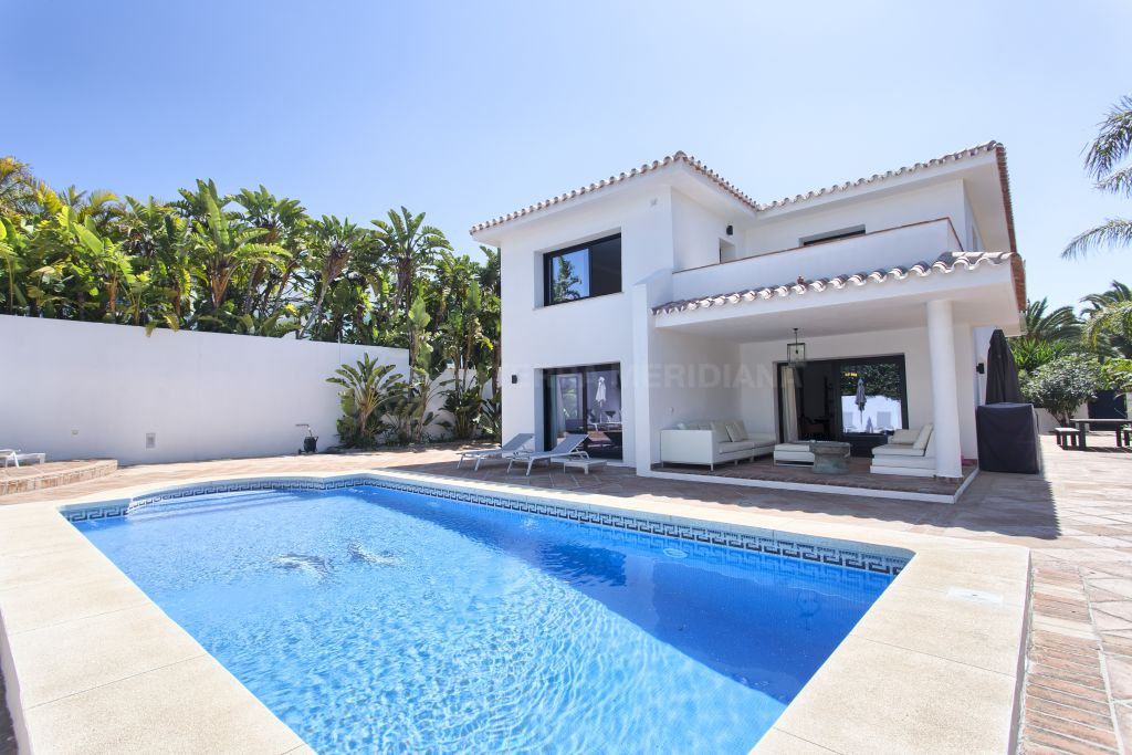 Marbella East, Stunning newly renovated villa for sale in Los Monteros Playa, Marbella East