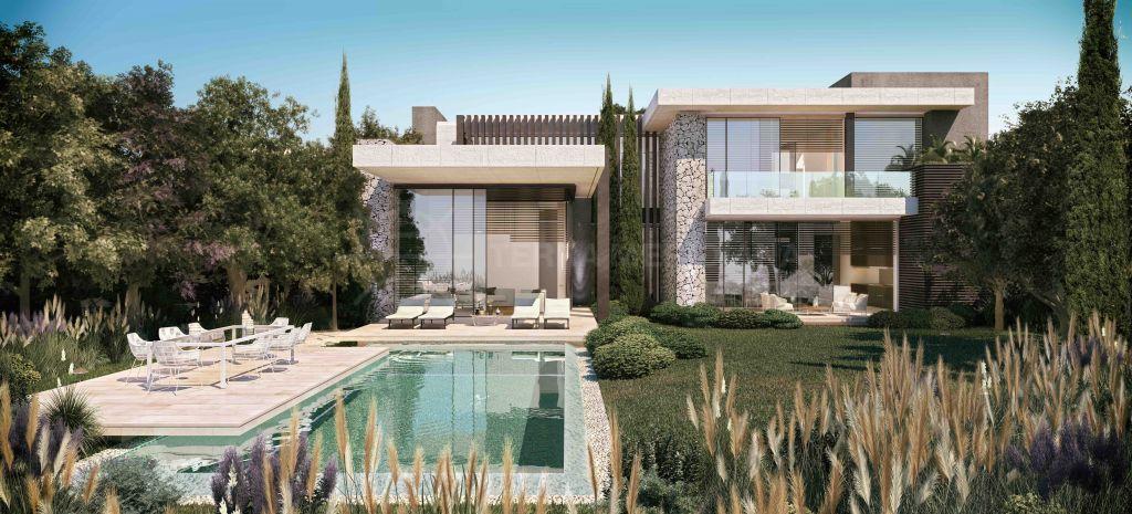 Benahavis, Luxurious off-plan modern villa with far reaching coastal views for sale in The Hills, La Quinta, Benahavis